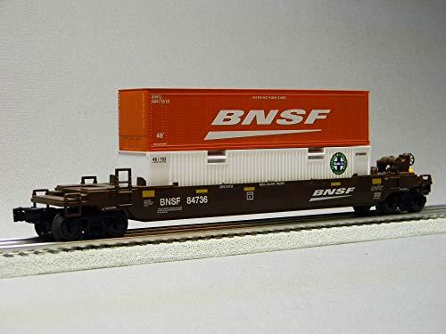 LIONEL BNSF FLATCAR Maxi Stack #84736 o Gauge