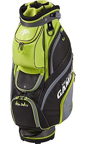 Top Flite Mens Gamer Golf Cart Bag (Volt/Black)