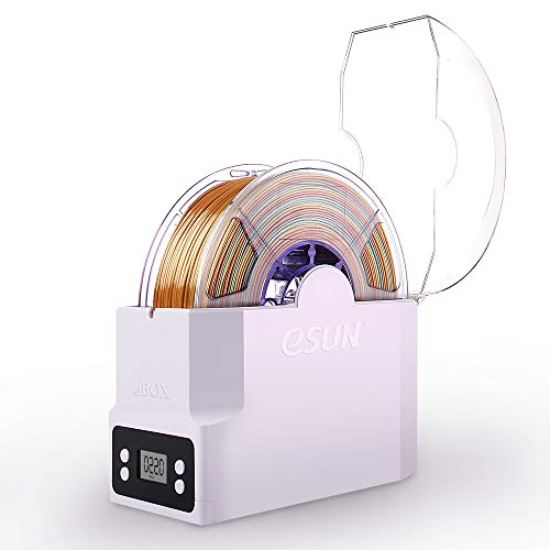 eSUN eBOX Dryer Box, 3D Printer Filament Storage Box, Filament Spool Holder, Keeping Filaments Dry and Measuring Filament Weight, Compatible with 1.75mm, 2.85mm, 3.00mm Filament, EU Power Supply