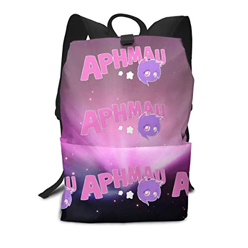 Aph-Mau Youtube School Backpack Durable Schoolbag 11.4'X5.9'X15.7' for Students