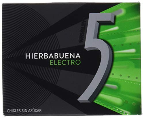 "Wrigley''s 5 Gum ""ELEKTRO""10x12 Streifen/Kaugummi/Bubble-Gum"