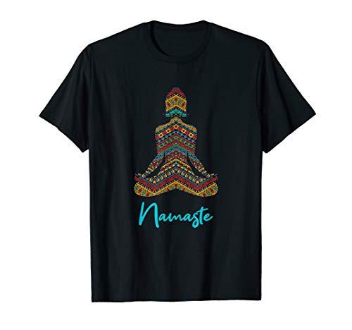 Namaste Yoga Bekleidung Meditation Chakra T-Shirt