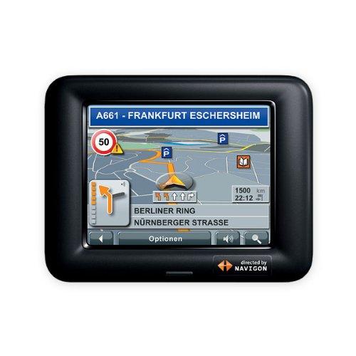 Navigon PNA 3110 Navigationssystem Europa komplett auf 2GB SD Karte und TMC Receiver