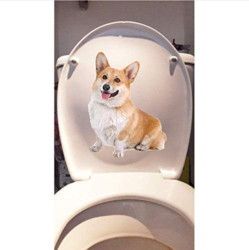 Wen 15,5 * 20,4 Cm Hund Corky Home Zimmer Wandtattoos Dekoration Wc Aufkleber 3 Stücke