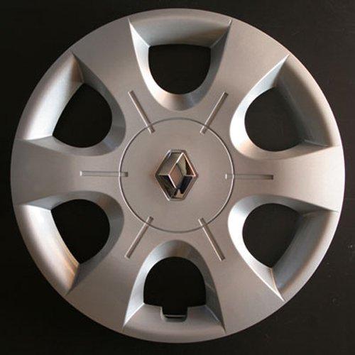 Wheeltrims Set de 4 embellecedores nuevos para Renault Clio 3 / Scenic 2 / Megane 2 / Megane 3 / Modus/Laguna 2 / Laguna 3 / Espace 4 / Vel Satis/Twingo 2 / Kangoo 2 con Llantas Originales de 16''