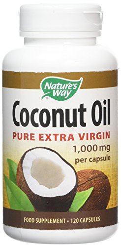Natures Way Coconut Oil Capsules - Pack of 120 Capsules