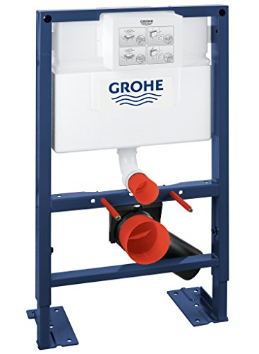 Grohe Structure/Bâti-Support pour Wc Suspendu Mur Porteur Ou Non-Porteur Rapid Sl 38587000 Blanc (Import Allemagne)