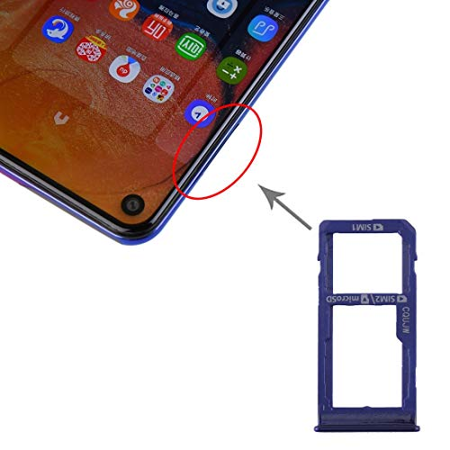 Tangyongjiao Galaxy Card Cocket Plateau de Carte SIM + Plateau de Carte SIM/Plateau de Carte Micro SD pour Samsung Galaxy A60 Accessoires de téléphones