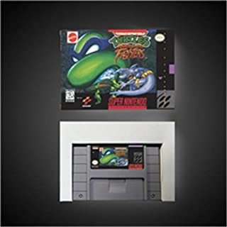 Game card Teenage Mutant Ninja Turtles - Tournament Fighters - Action Game Card US Version with Retail Box Game Cartridge SNES , Game Cartridge 16 Bit SNES