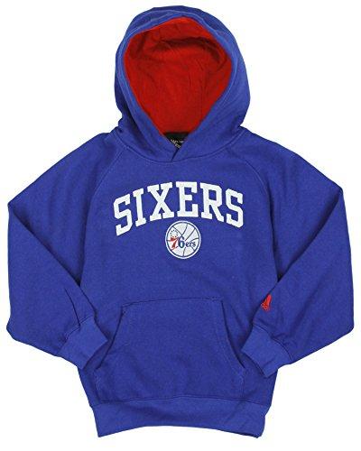 adidas Performance Philadelphia 76Ers NBA - Sudadera con Capucha para niños pequeños (Talla L), Color Azul, Azul, Large (7)