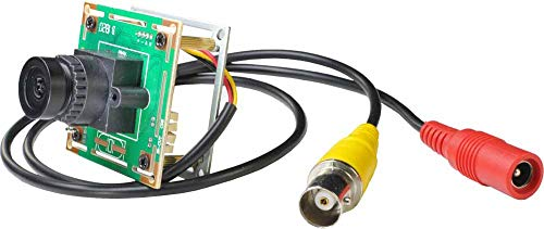 Boomlens- Cámara CCTV de ángulo largo de 8 mm Lente CMOS 800TVL IR-filtro analógico Video Seguridad Cámara de repuesto para DIY