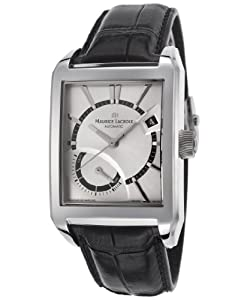 Maurice Lacroix Men's Pontos Automatic Silver-Tone Dial Power Reserve Display image