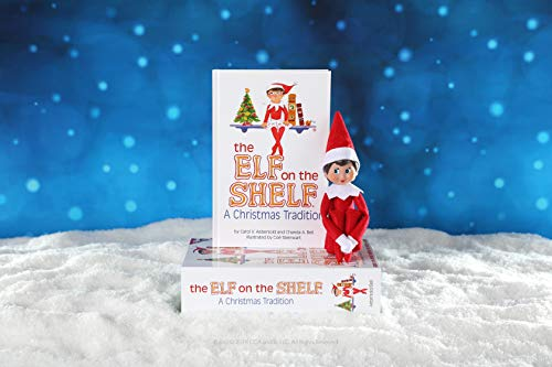 Elf on the Shelf: A Christmas Tradition | Light Skinned Blue Eyed Girl Scout Elf | Includes Keepsake Box and Children's Book | Register your Elf to download an Adoption Certificate + Santa Letter
