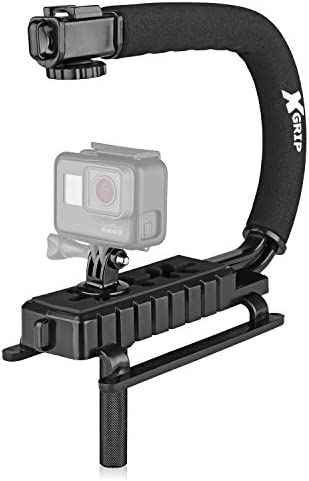 Opteka X Grip H MOD Professional Stabilizing Handle for GoPro Action Cameras Black product image