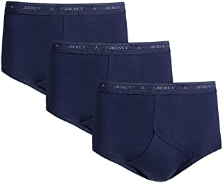 JOCKEY Men's Underwear Classic Y-Front Brief (3 Pack)