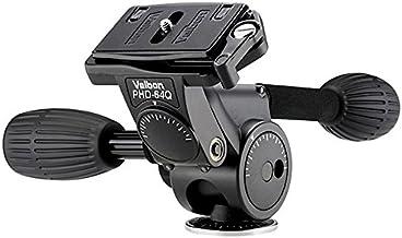 Velbon PHD-64Q Accesorio de tripode - Accesorio para trípode (Negro, 0.81 kg, Magnesio)