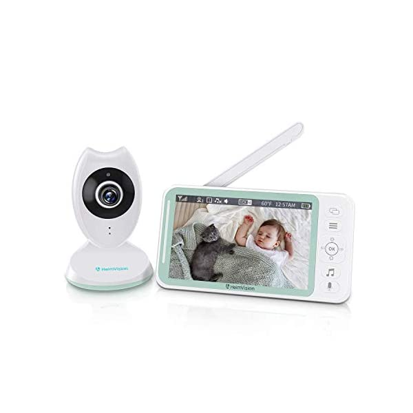 HeimVision Baby Monitor, HM132 Video Baby Monitor with Camera and Audio, 4.3″...