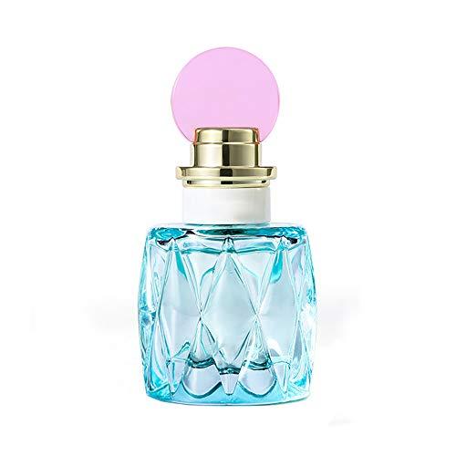 DQM Perfume Azul para Mujer, Fragancia Ligera de Larga duración en Spray de perfumes Frescos Naturales, Elegante Fragancia de jazmín, 50 ml / 1 oz
