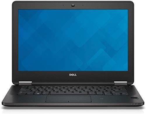 Dell Latitude E7270 Ultrabook de 12,5 pulgadas - Intel Core i7-6600U 2,6 GHz, 16 GB de RAM, 256 GB SSD, Bluetooth, cámara web, Windows 10 Pro (Renewed)