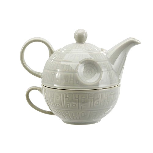 Funko SW03879 Star Wars Teapot: Death Star, Ceramic, Grey, 15 x 15 x 12 cm