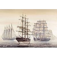 木製のジグソーパズルの木製のジグソーパズルのおもちゃとゲーム、挑戦的なアートワークのロマンチックな油絵パズルの1000個 B-300