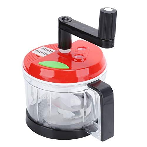 Moedor manual, processador de alimentos Moedor de alimentos Hand Held Chopper para cozinha para restaurante(Medium)