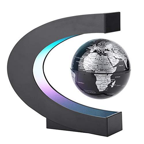 IWILCS Globo magnético flotante en forma de C para decoración de escritorio, regalo para niños