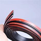 Chenweiwei Lcuiling- Tira de Sellado Tiras de Sello de Goma de automóvil Strips de Sellado de Bordes Auto Techo de Parabrisas Sellante Protector Sale FRIEL, Ampliamente Utilizado (Color : 3 Meters)