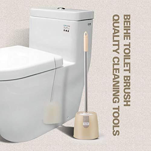 Walizh Longue Poignée Sanitaire Flushing Toilettes Brosse De The Punch Creative Brosse De Toilette Niches Kit D'Extension Pas De Toilettes De Lavage Brosse De Nettoyage Khakiy13-Dj3642106750