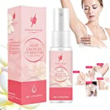Hair Inhibitor,Non-Irritating Painless Hair Growth Inhibitor Spray for Arms Legs Underarms Bikini Whole Body,Apply after Hair Removal-Smooth Your Skin