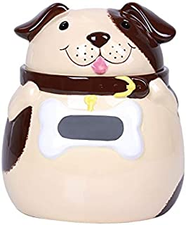 Pacific Giftware Fat Dog Cookie Jar Home Office Decor