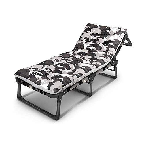 QTQZDD voetenbankje ligstoel inklapbare zonnetuin terras logeerbed ligstoel stoel sterke stabiliteit (kleur: T1) 2 2