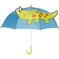 Playshoes Krokodil, Paraguas Unisex adulto, Azul (original), Talla única (Talla del fabricante: original)
