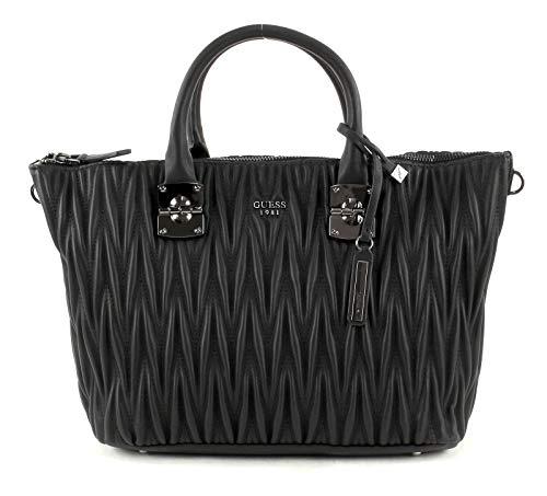 Guess Women's Keegan Black Top Handle Satchel Handbag