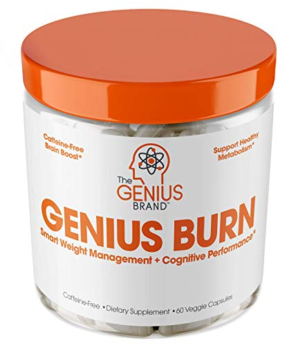 Genius Fat Burner - Thermogenic Weight Loss & Nootropic Focus Supplement - Natural Metabolism &...