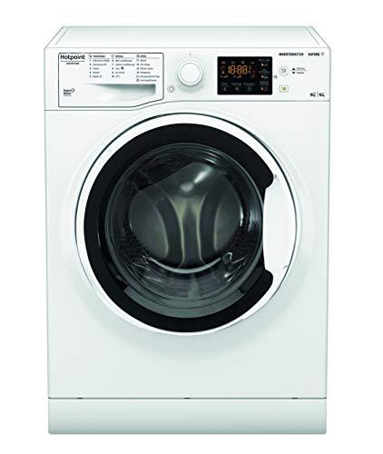 Hotpoint NDB 96443 W IT N, Lavasciuga a Libera Installazione, 9kg, 6kg, 1400 GIRI/MIN [Classe di efficienza energetica D]