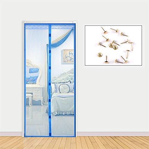 LANDP Boormachine, vliegengaas, klittenbandsluiting, snoerloos, dunne mazen, scheurvast, magnetisch, vliegengaas, deur, stil, ventilatie, magnetisch muggennet
