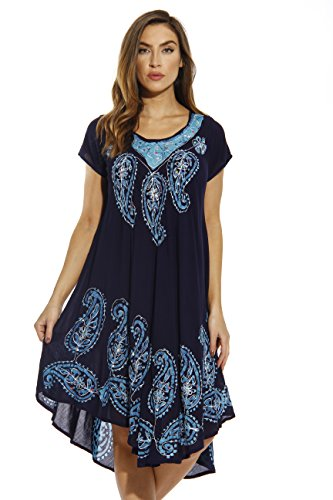 Riviera Sun Dress Dresses for Women 20469-NEW-NB-M Navy/Blue