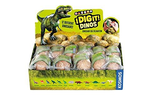 Kosmos 1665129 Dinosaurs Dino Eggs, Multi