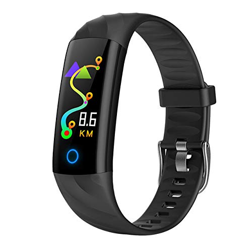 ShiningXX S5 Smart-Armband, Fitness-Tracker, wasserdicht, Herzfrequenz-Monitor, Aktivitäts-Tracker, Blutsauerstoff-Smart-Band