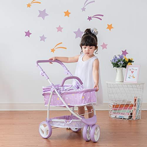 Olivia's Little World OL-00010 Puppenwagen, Purple