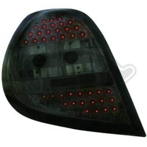 in.pro. 4414998 HD achterlichten LED helder Renault Clio bouwjaar: vanaf 05, zwart