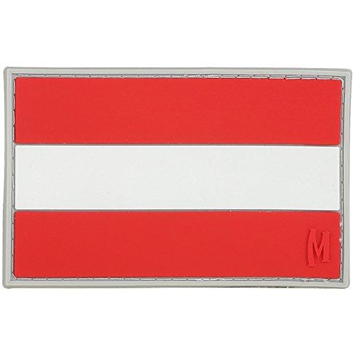 Maxpedition Aufnäher mit Österreich-Flagge, 7,6 x 4,8 cm