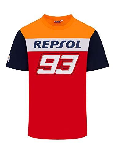 Offizielle MotoGP Marc Marquez 93 Big 93 Dual T-Shirt - Rot - L.