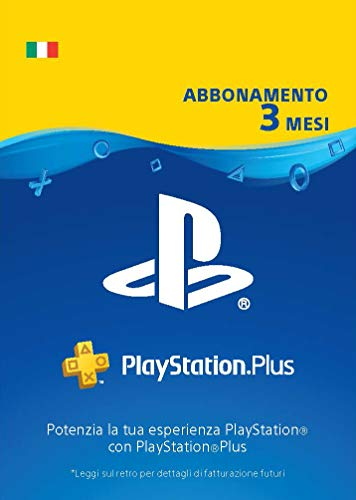 PlayStation Plus Abbonamento 3 Mesi | Codice download per PSN - Account italiano