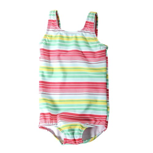 Lego Wear - Maillot de Bain - BB Fille - Rose (315 Dark Pink) - FR : 9 Mois (Taille Fabricant : 74)
