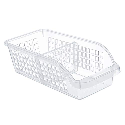 Fenteer Cajas de Almacenamiento de Alimentos, Recipientes de Plástico para Almacenamiento de Cocina para Alimentos Secos, Recipientes Organizadores de Refrige
