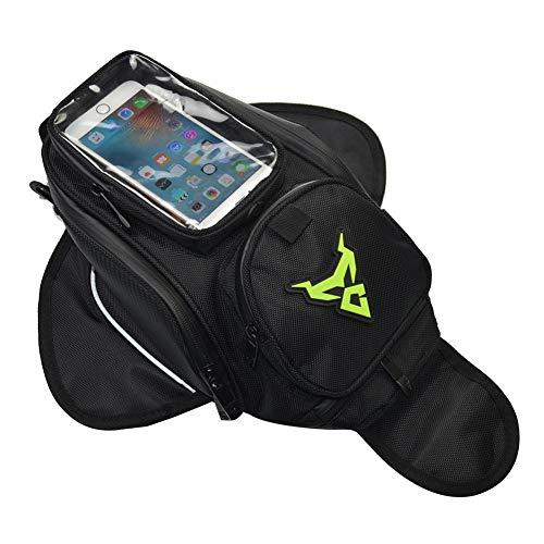 libelyef Motorrad-Tanktasche, klein, Navigationspaket, wasserdicht, Oxford, für Fahrrad, Handy-Ladegerät, Kleidung