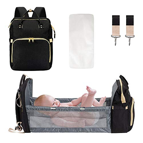 DREAMSOULE 3 in 1 Extendable Baby Diaper Backpack,Lightweight Baby...