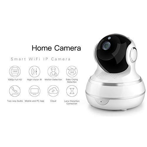 OWEM 1080P HD WiFi IP-Kamera, Inländische Überwachungskamera-Zweiwegaudionetz-Drahtlose Kamera Für Kinder/Alten/Haustiere/Kinderpflegerin